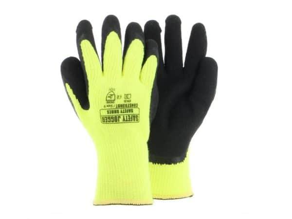 Warm Hi-Vis Safety Gloves