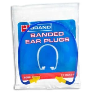 B-Brand Branded Ear Plugs Replacement Pods Only (Pack of 10 Pairs)