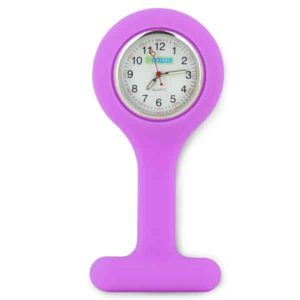 Oxypas Silicone Fob Watch in Lilac