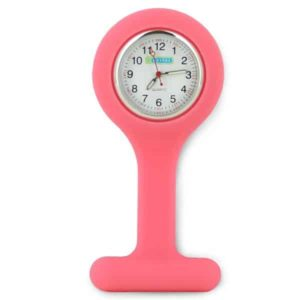 Oxypas Silicone Fob Watch in Pink