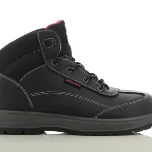 Safety Jogger BestLady S3 SRC Ladies Black Leather Safety Boot