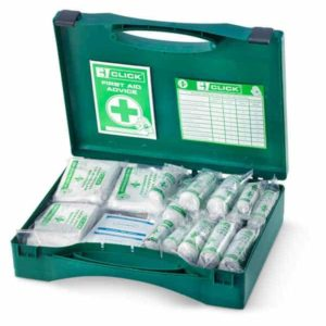 CLICK MEDICAL 50 PERSON FIRST AID KIT