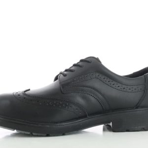Safety Jogger Manager Smart Safety Shoes S3 SRC Black Brogues Style