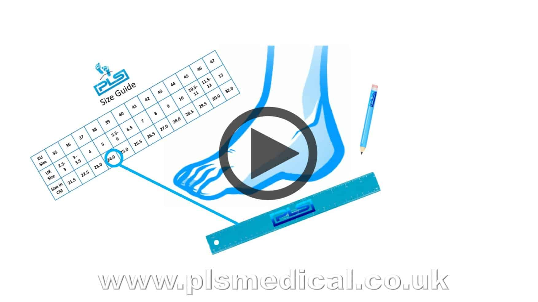 Watch Our Size Measuring Guide Video