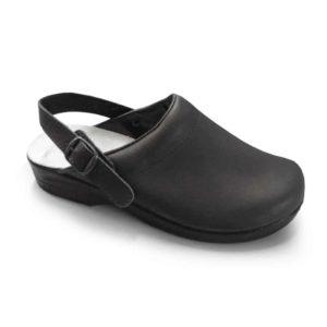 Soldini 'Comfort Clog' Classic Italian Leather Nursing Clog