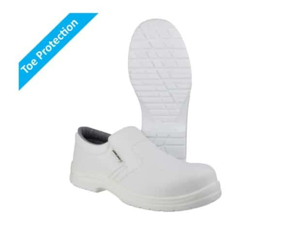 Metal-Free White Safety Shoes