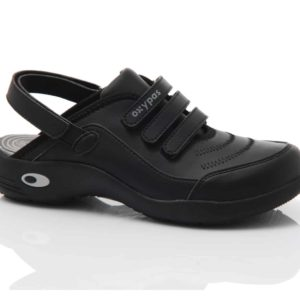 Oxypas Ultralight Cleo Leather-lined Washable Nursing Clog with Anti-slip and Anti-static