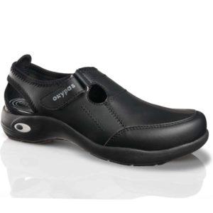 Oxypas Ultralight 'Miranda' Anti-slip, Anti-static, Washable Shoes for Nursing with Velcro Strap