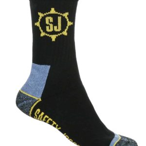 SJ Socks by Safety Jogger Cotton Socks with Elastic. 3 Pack