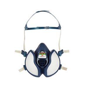 3M Respirator Face Mask 4279+ Maintenance-Free FFABEK1P3 Comfortable Half-Face Mask