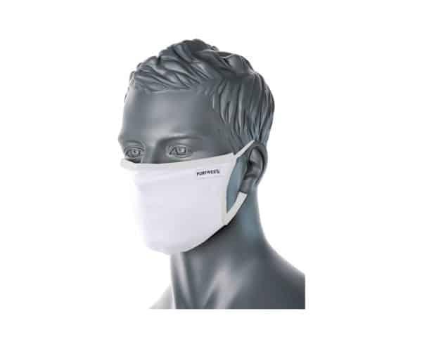 CV30 3 Ply Reusable Face Mask White