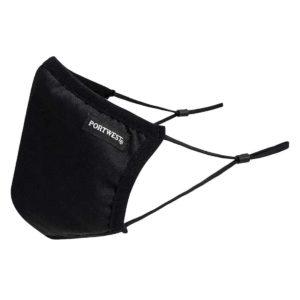 CV33 3-Ply Fabric Reusable, Adjustable, Anti-Microbial Face Masks