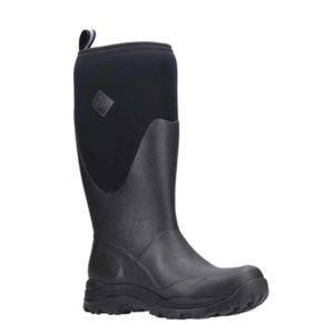 Arctic Outpost Tall Men's Muck Boots in Black or Dark Green