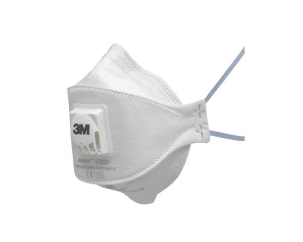 3M 9322+ Aura FFP2V Respirator Face Mask