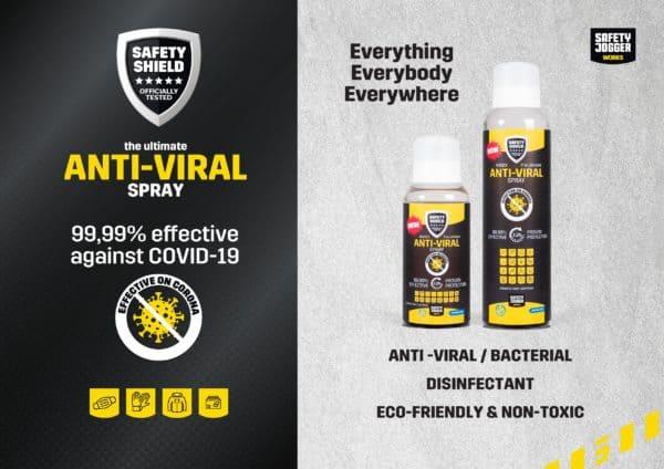 SJ Safety Shield Anti-viral Spray