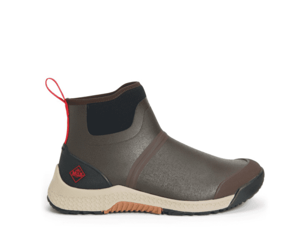 Outscape Short Boot Brown Coffee Mens