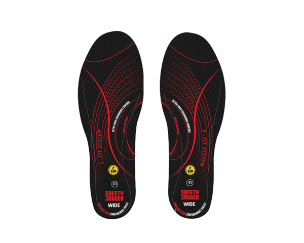 SJ HYBRID insole with SJ-3FIT Technology WIDE