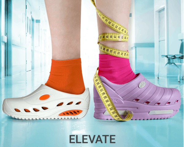 Elevate Shoes for Nurses with Added Height