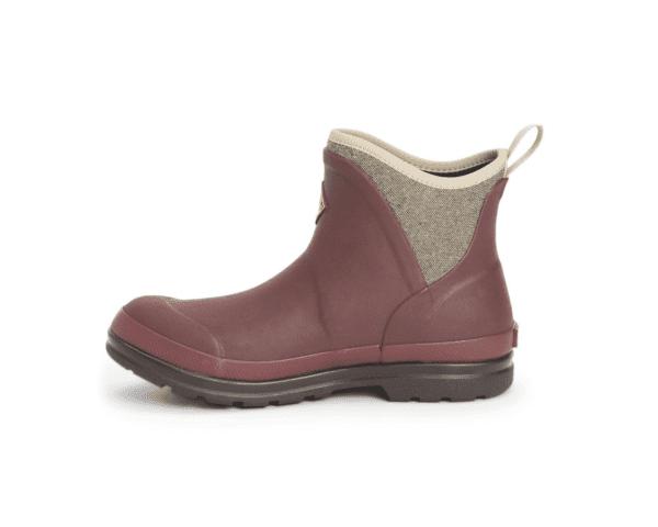 Muck Boots Originals Ankle Rum Raisin Herringbone 3