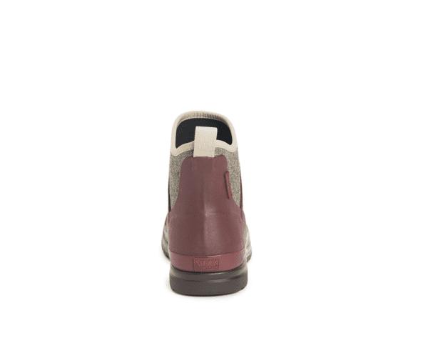 Muck Boots Originals Ankle Rum Raisin Herringbone back