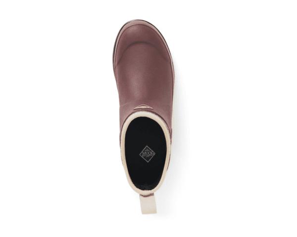 Muck Boots Originals Ankle Rum Raisin Herringbone top